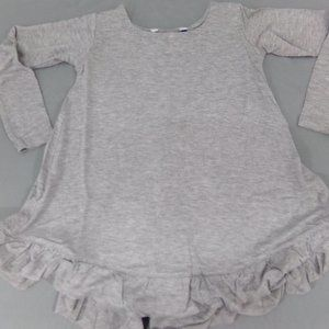 Toddler Girls Top XXS 2-3 in Gray